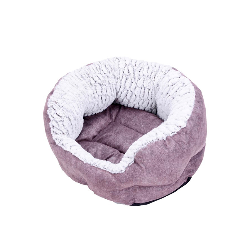 Precision Pet Shearling Round Pet Bed