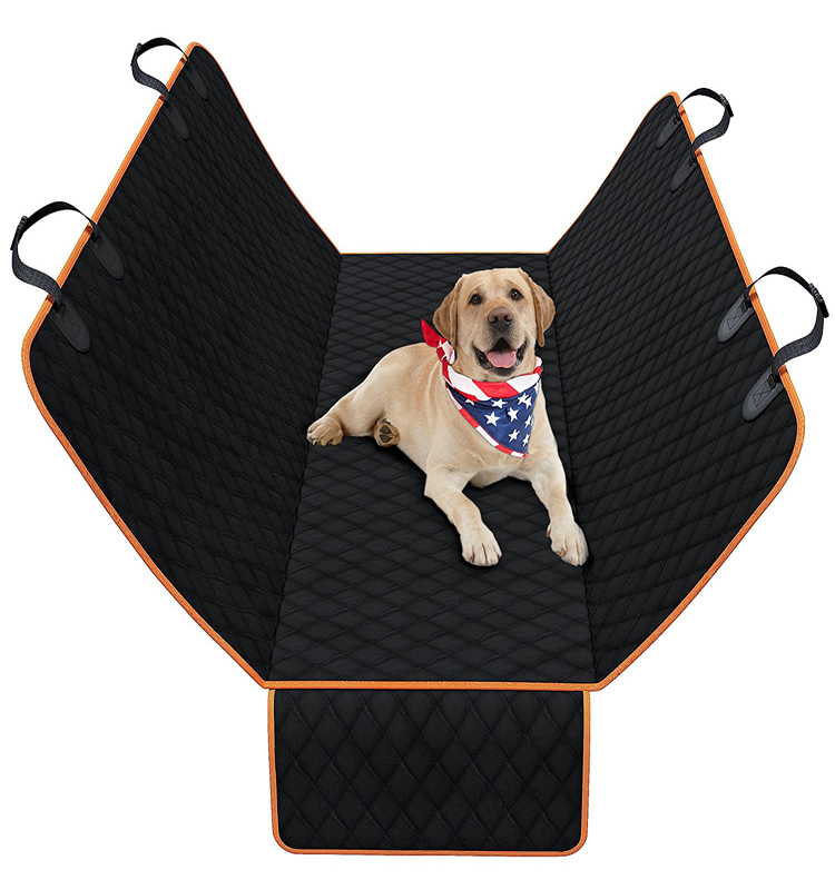 Nonslip Waterproof Scratchproof Pet Dog Car Back Seat Cover