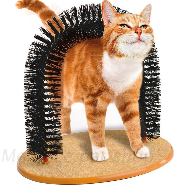 Pet Toy Pet Products Cat Scratcher Toys Fur Grooming Cat Toy Brush Controls Shedding