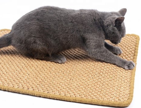 Manufacture Bestselling Floor Protector Pet Furniture Kitty Toy Cat Scratching Pad Cat Play Scratch Mat