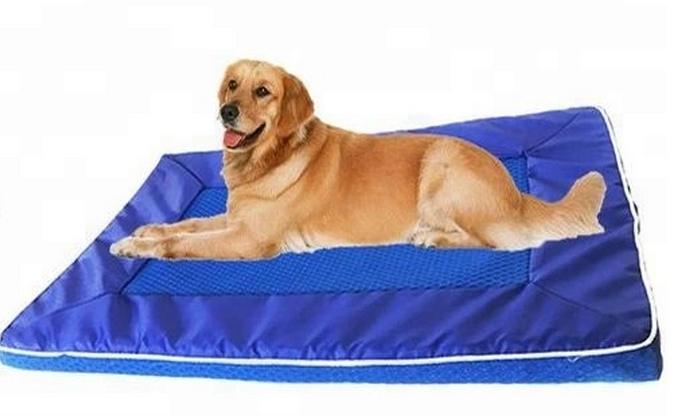 Pet Bed Accessories Detachable Washable Durable Non-toxic Dog Cooling Mat Dog Bed Cooling Dog Bed
